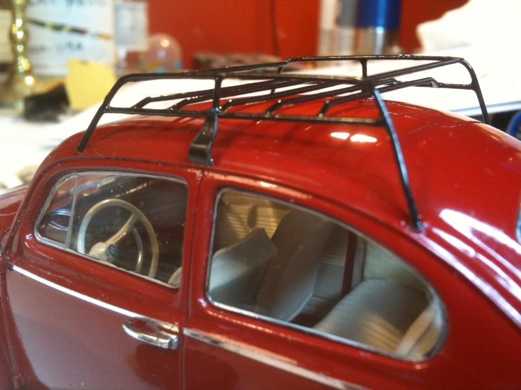 custom roof rack Vw beetles, Car model, Beetle