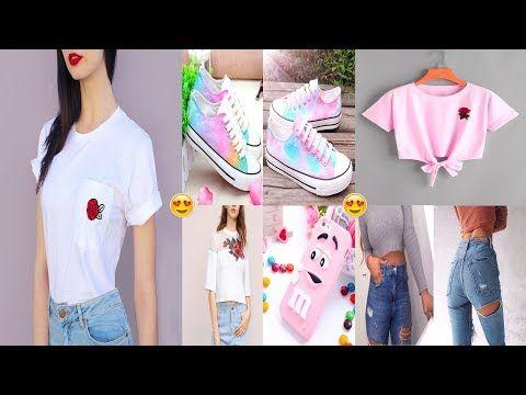 حيل و أفكار و إعادة تدوير الملابس طريقة سهلة لتحويل الملابس القديمة إلى الملابس الجديدة رائعة Youtube Youtube