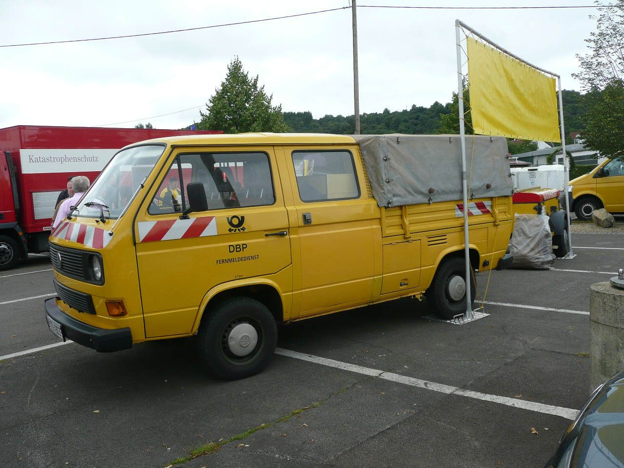 Cool Interesting Vw T Der Bundespost Postbulli Volkswagen Transporter And With Poco Mieten Lkw