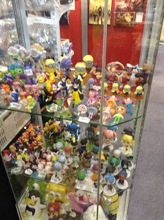 Various toys and merch for sale Thailand Comic Con 2014