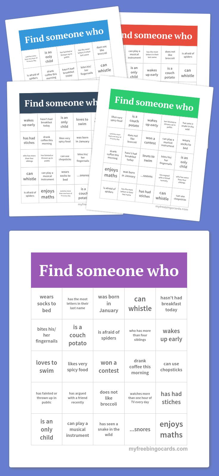 Free Printable Bingo Cards Christmas crafts Drop In