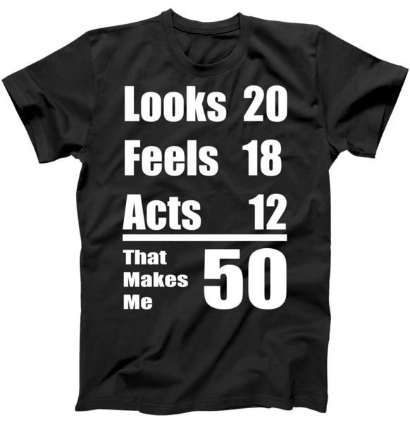 Funny 50th Birthday Fifty Years T-Shirt | TeeShirtPalace #moms50thbirthday Funny 50th Birthday Fifty Years T-Shirt #moms50thbirthday