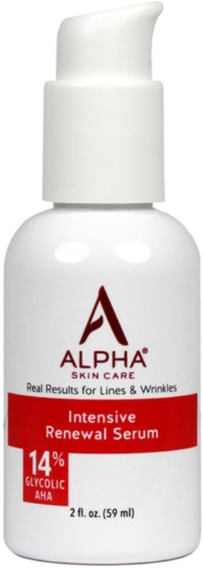 Alpha Skin Care S Intensive Rejuvenating Serum Is A Potent Concentrated Formula With 14 Glycolic Aha W In 2020 Intensive Renewal Serum Brown Spots On Skin Skin Bumps