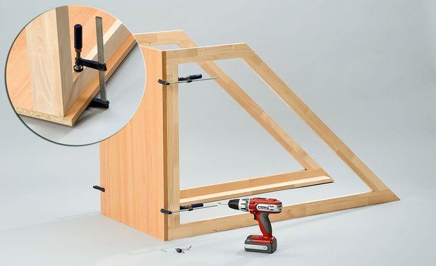 drempelschrank bauen tuin attic and house. Black Bedroom Furniture Sets. Home Design Ideas