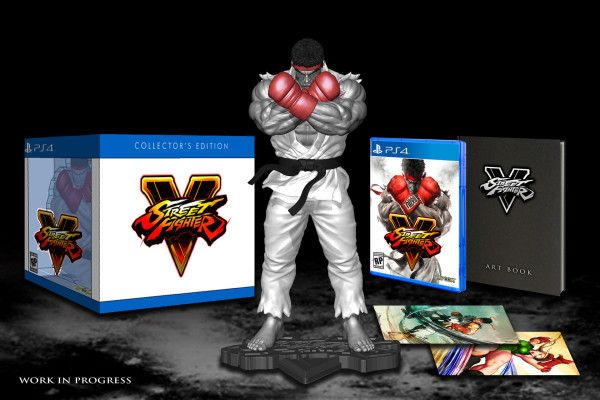 Street Fighter V Collector's Edition PS4 USA