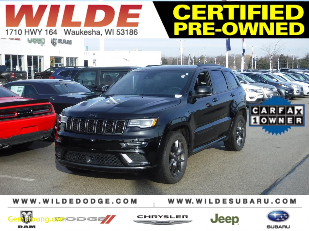 Lovely Carfax Used Cars One Owner In 2020 Jeep Grand Cherokee