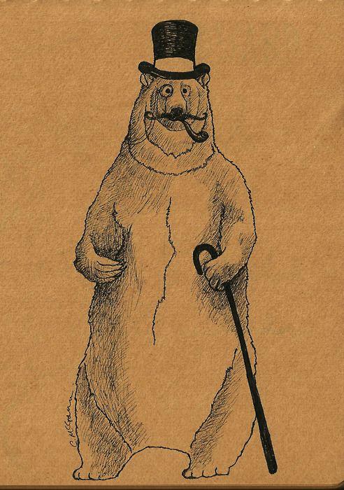 A Very Gentleman-like bear