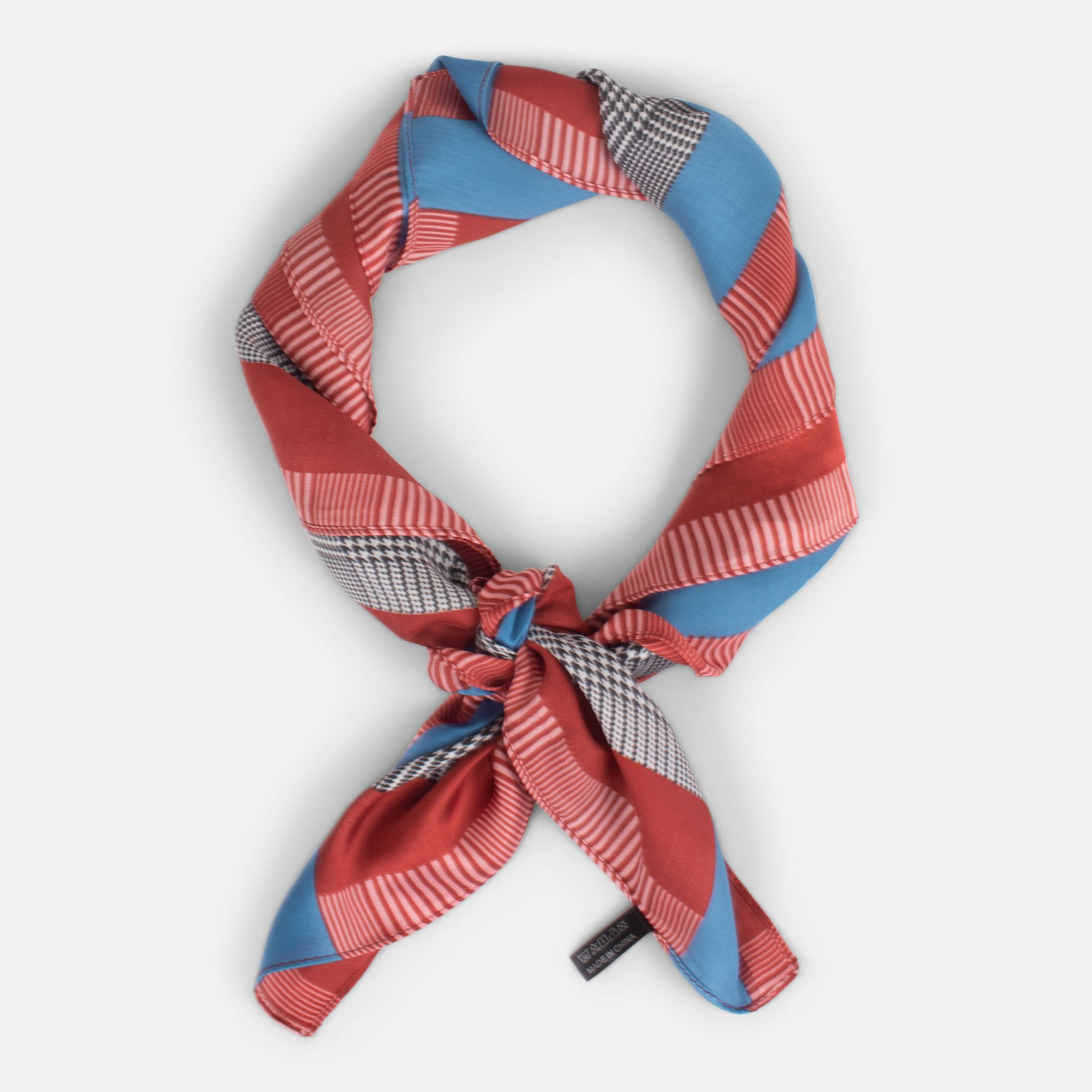 Cute Silky Scarf With Prince Of Wales Pretty Scarves Light Scarves Scarf
