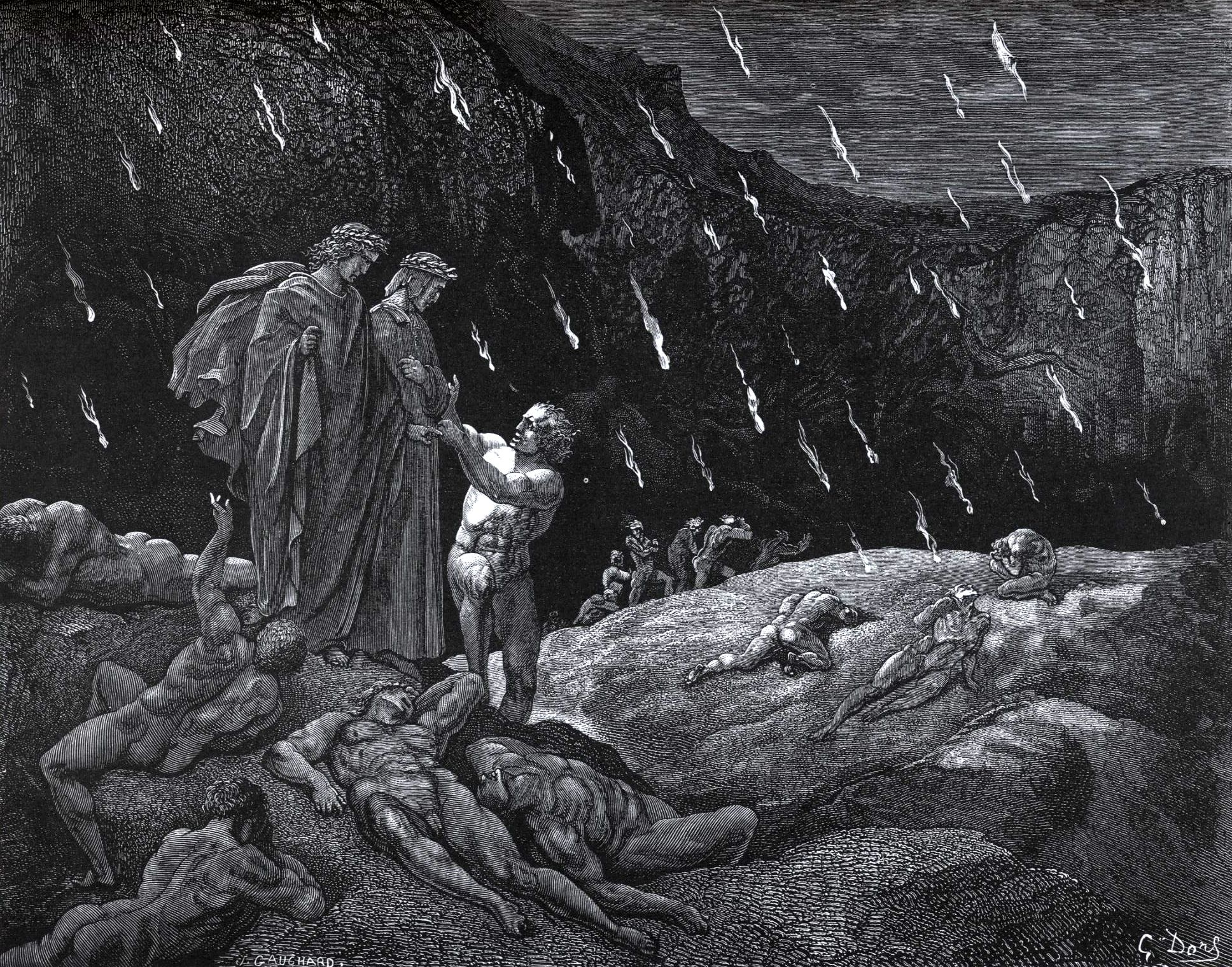 Any writings on Hell that are contemporary with Dante's Inferno?