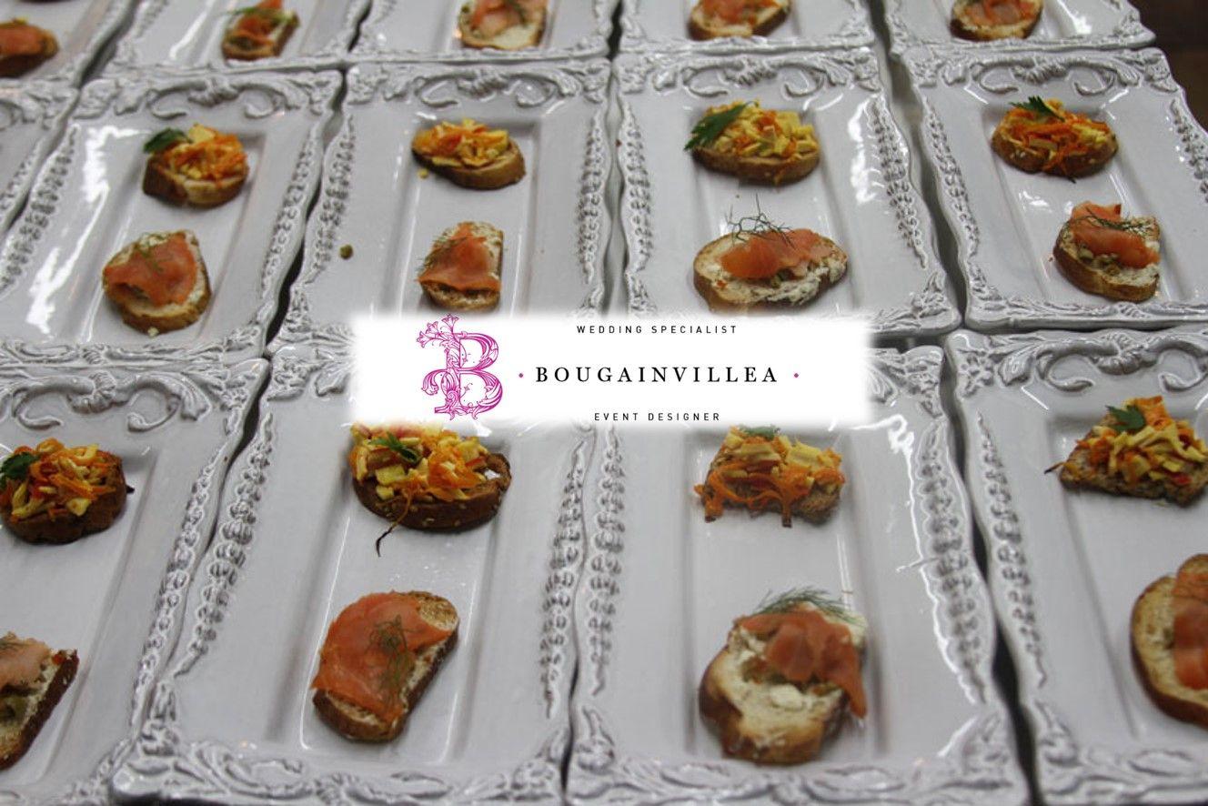 Todos nuestros platillos servidos en vajillas de prestigio.  www.bougainvilleabodas.com.mx Bodas San Miguel De Allende