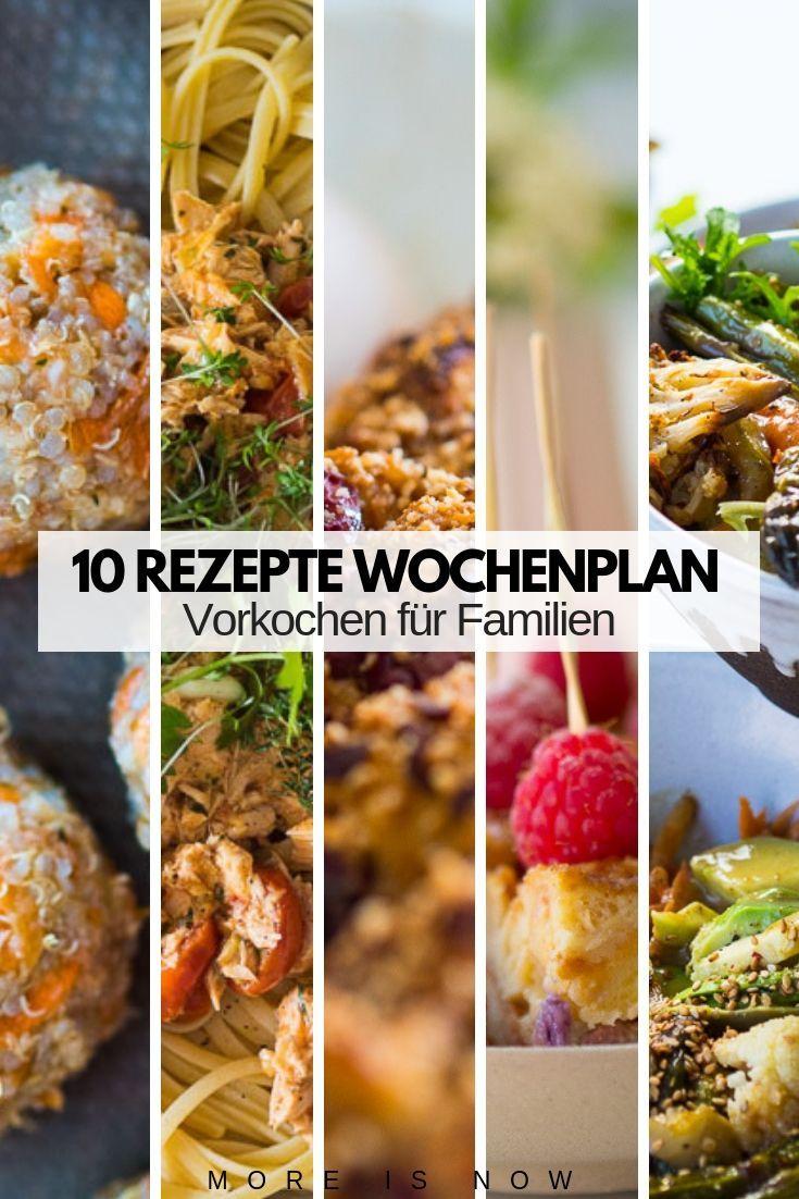Familien Meal Prep par excellence - Mit wenig Aufwand KOCHEN, ganz oft ESSEN!!! - More is Now