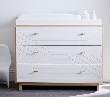 Cora Nursery Dresser & Topper   Nursery dresser, Modern baby ...
