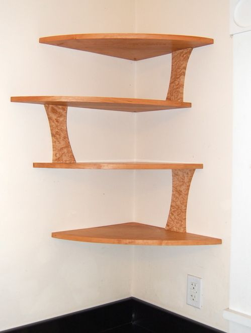 Corner Shelving Ideas | Prototype For S Corner Shelves And Final | Daniel  Wetmore