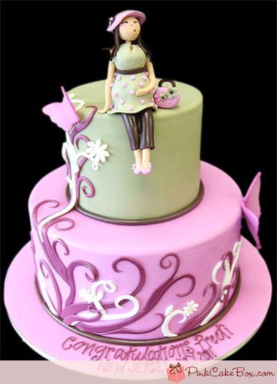 Baby Shower Cake » Custom Baby Shower Cakes