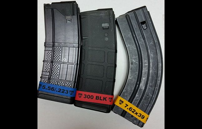 firearms magazine marker bands keep calibers in order gun parts
