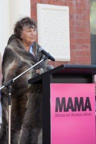 Aunty Nancy Rook (opening of MAMA) | Albury Wodonga News Weekly