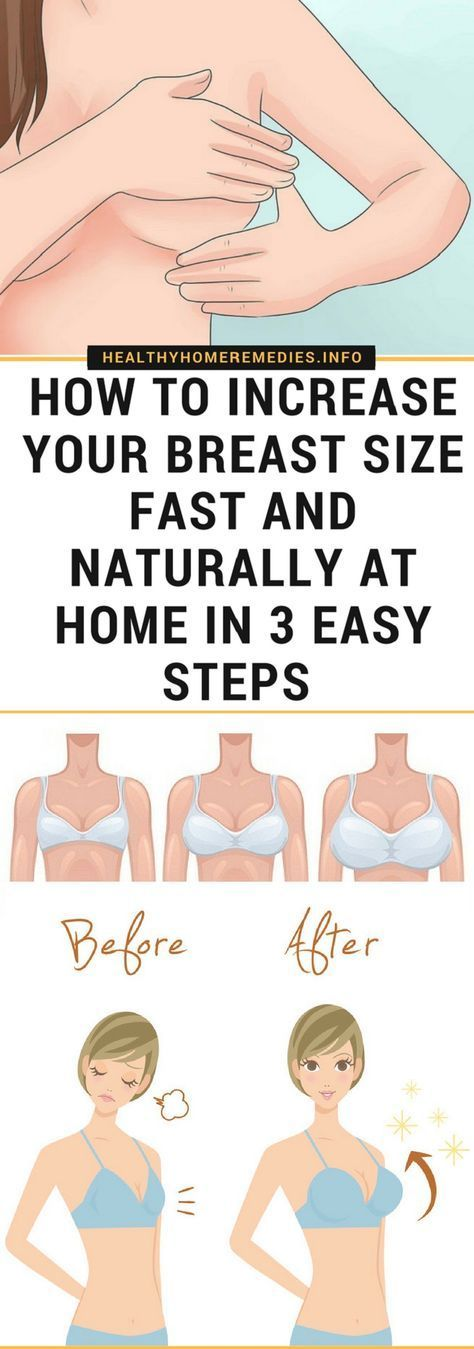 increase breast To size your