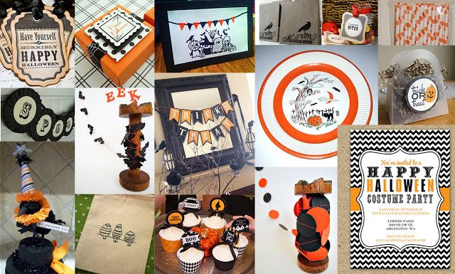Etsy Tuesday Halloween Party Supplies! Bubblepop Pinterest