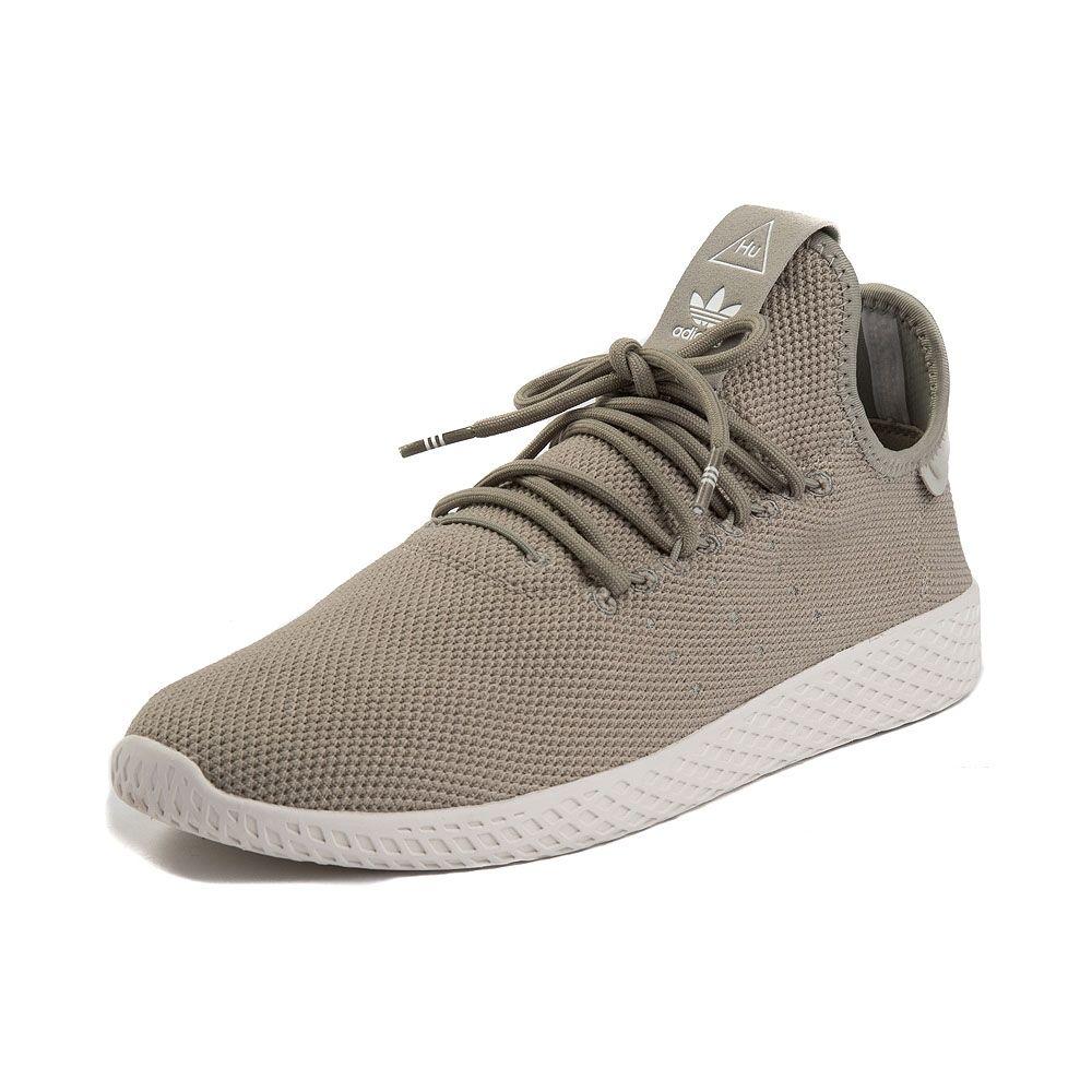 5ab4b2d21 Mens adidas Pharrell Williams Tennis HU Athletic Shoe - Beige White - 436497