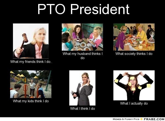 My life as a #PTO President @Patricia K. Otte Today | Pta ...