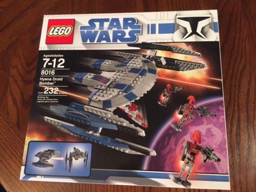 New Lego Hyena Droid Bomber 8016 Hyena And Lego