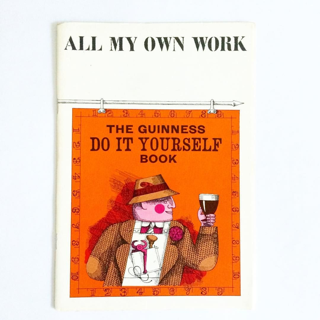 Happy st patricks day the guinness do it yourself book the guinness do it yourself book promotional booklet from 1964 illustrated by john tribe and lithographed at cowells ipswich solutioingenieria Choice Image