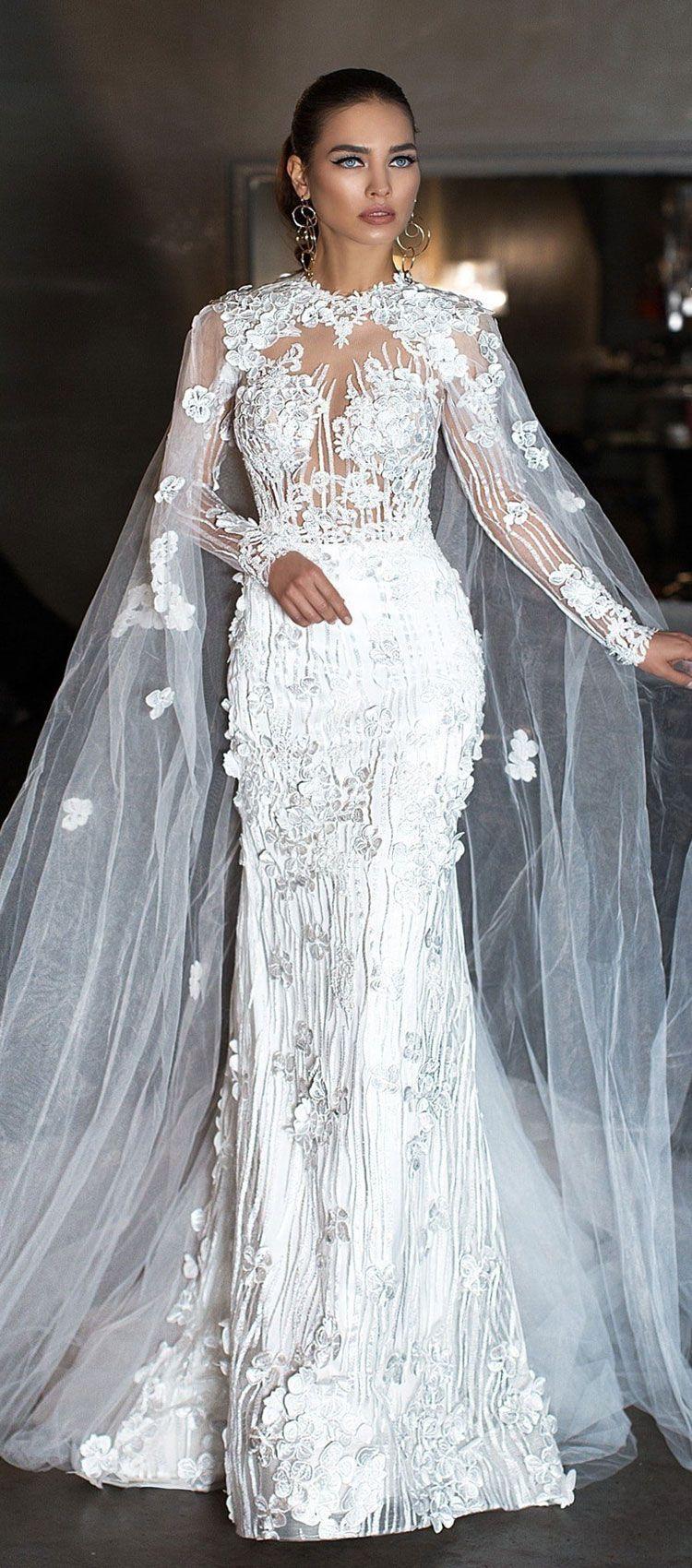 39++ Wedding dress with cape uk information