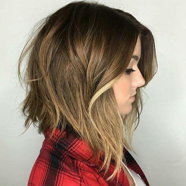 Populares pontas compridas   Hair   Pinterest   Cabelo, Cabelo curto e Curtas LQ62