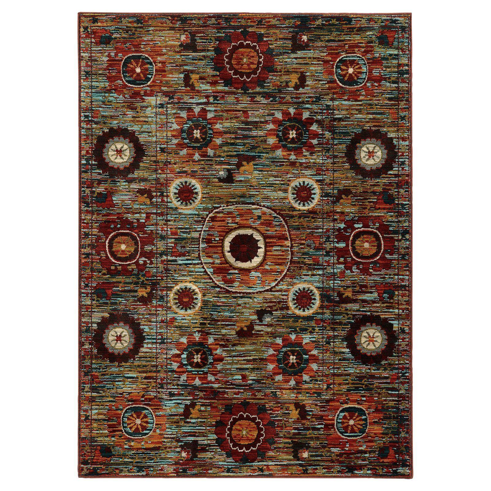 Oriental Weavers Sedona 6408K Indoor Area Rug | from hayneedle.com