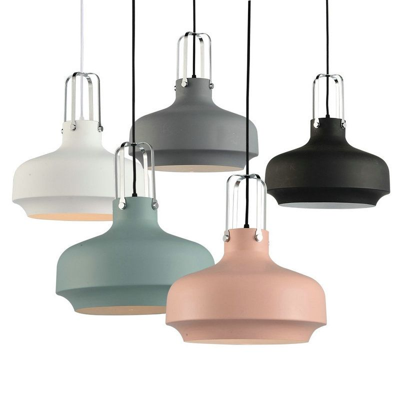 Shop for nordic simple pendant light macaron shaped creative dining room study room bedroom light iron