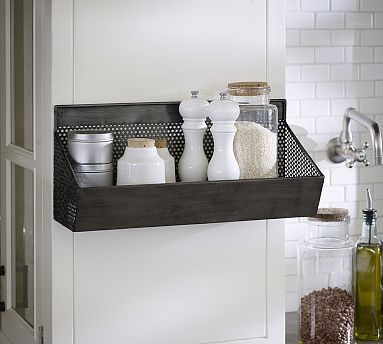 Speed Racks For Kitchen Remodel Mn Perforated Storage Rack Idea Wall Above Coffee Bar 18 W By 6 5 Deep 8 High Can Use Two Side