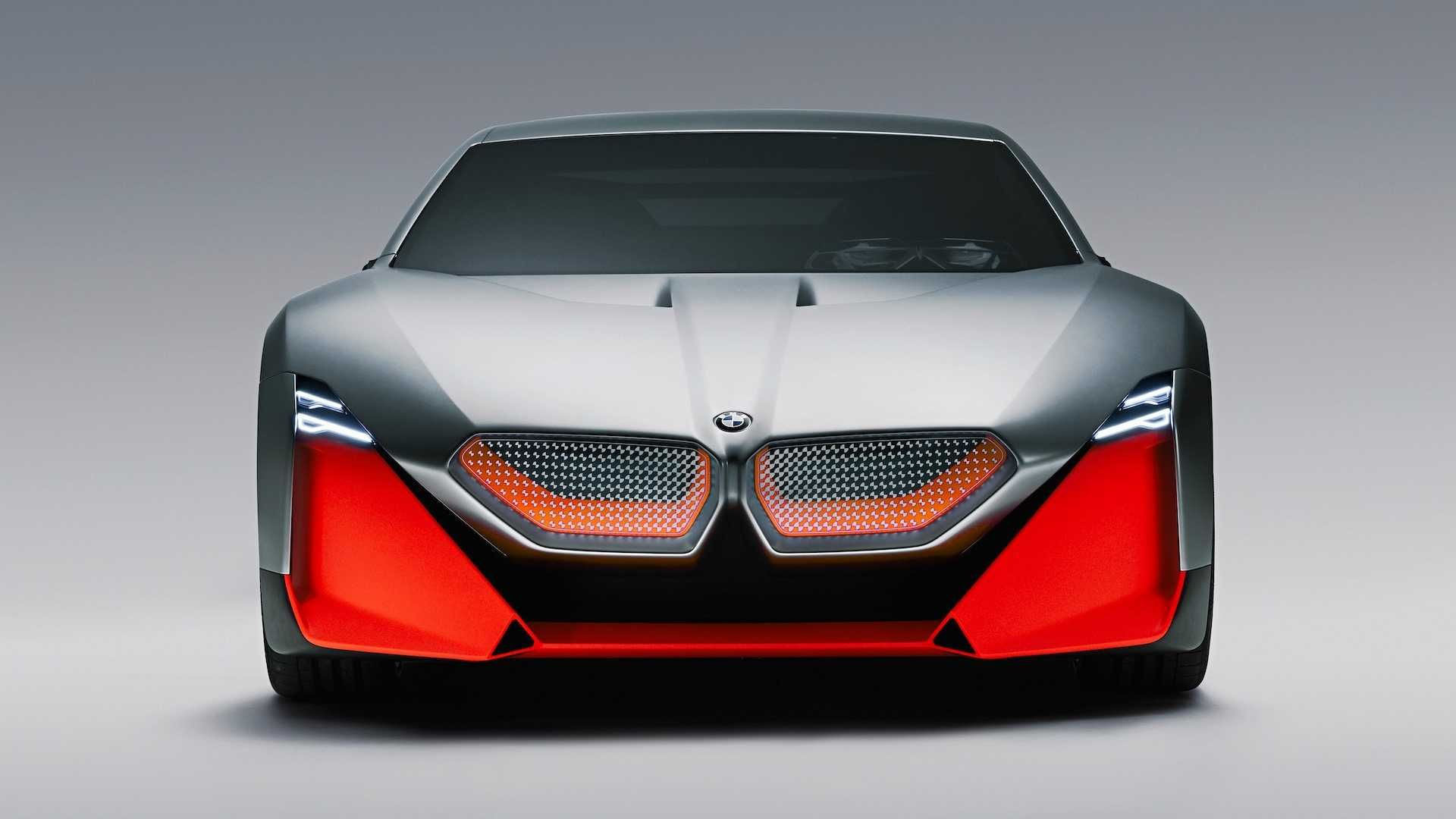 Bmw Vision M Concept Is A Stunning And Futuristic M1 Bmw Design Sports Car Electric Sports Car