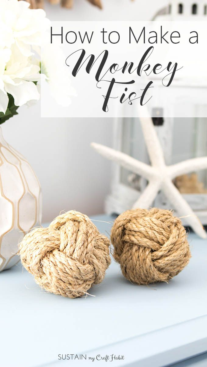 Learn how to Make a Monkey Fist!