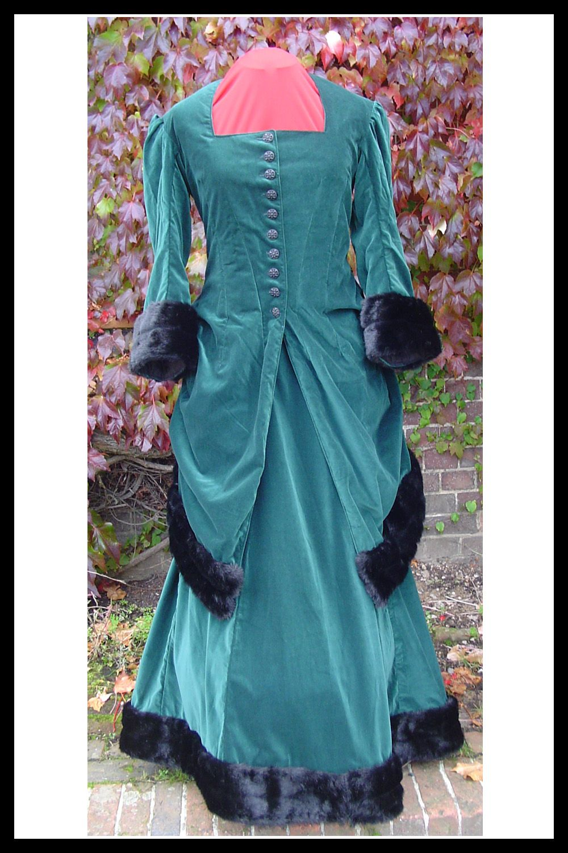 Victorian wedding dress gothic wedding dress