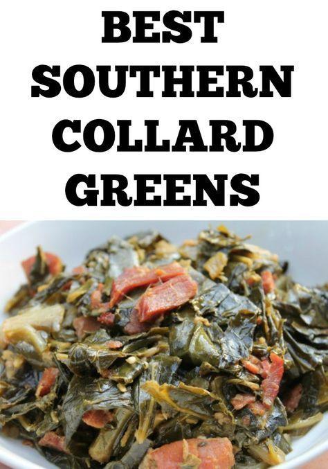 Photo of Soul Food Collard Greens Recipe | I Heart Recipes – Real Mediterranean Tender C …