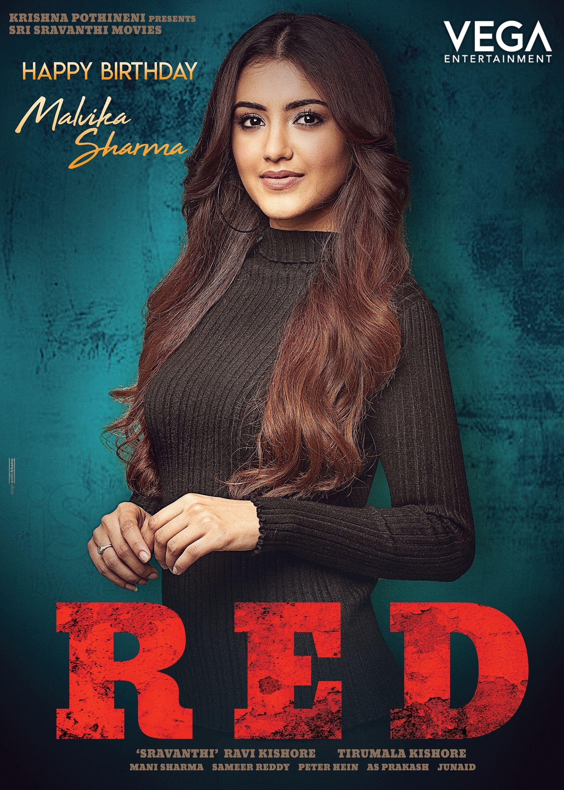 Malavikasharma Introduced From Red Movie Happy Birthday