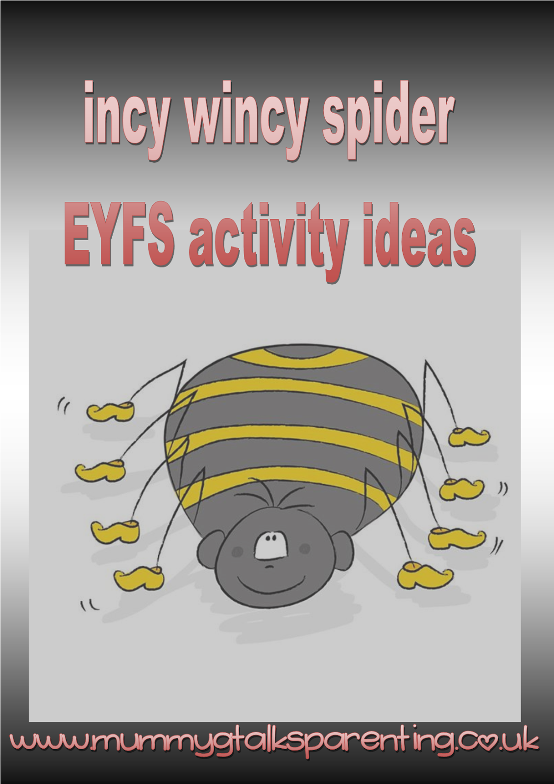 Incy Wincy Spider Eyfs Activity Ideas Mummy G Talks