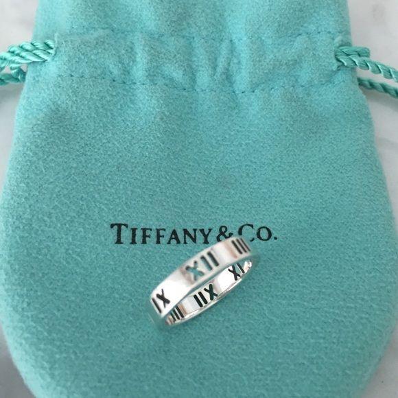 459884592 Tiffany & Co. Atlas series ring 100% authentic Tiffany & Co ...