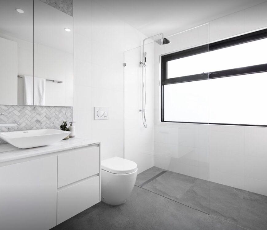 Walk In Shower Ensuite Bathroom Wall Tile Bathroom Remodel Master Grey Flooring