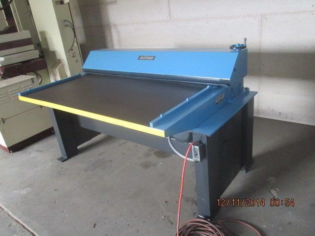 Lockformer Pittsburgh 60 Inch 16 Gauge Sheet Metal Duct Beader Hvac 110volts Sheet Metal Hvac Duct