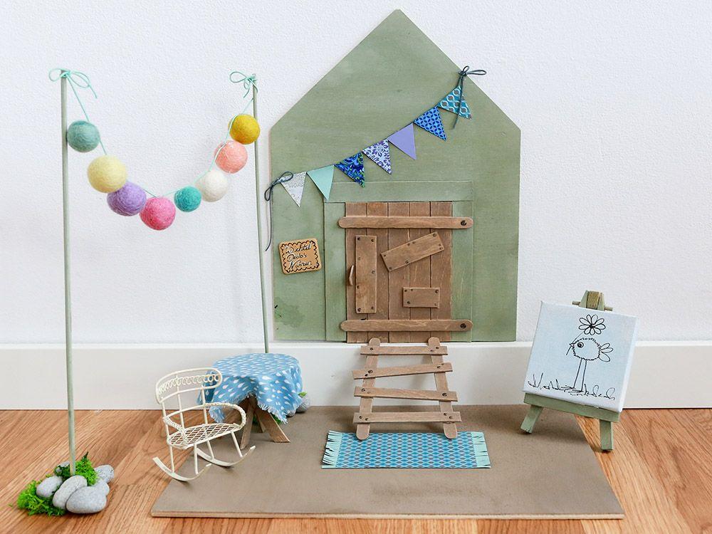 die wichtelt re im kinderzimmer das bastelprojekt f r familien kinderzimmer einrichtung. Black Bedroom Furniture Sets. Home Design Ideas