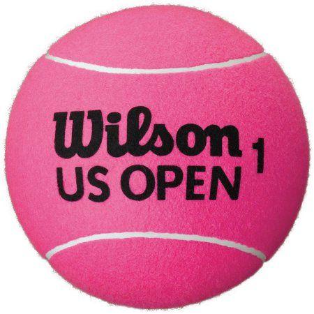Wilson US Open Jumbo Tennis Ball, Pink, 9 inch Basketball Size