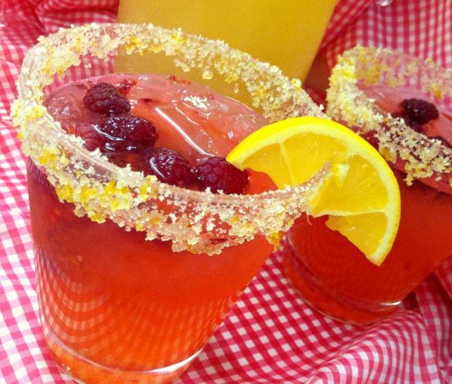 Raspberry Lemonade | Caroline's Edible Creations