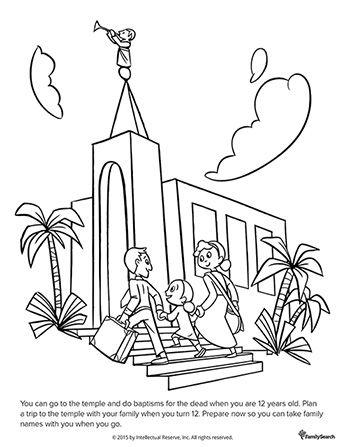 Un dibujo en blanco y negro de un padre y de la madre de la mano con ...