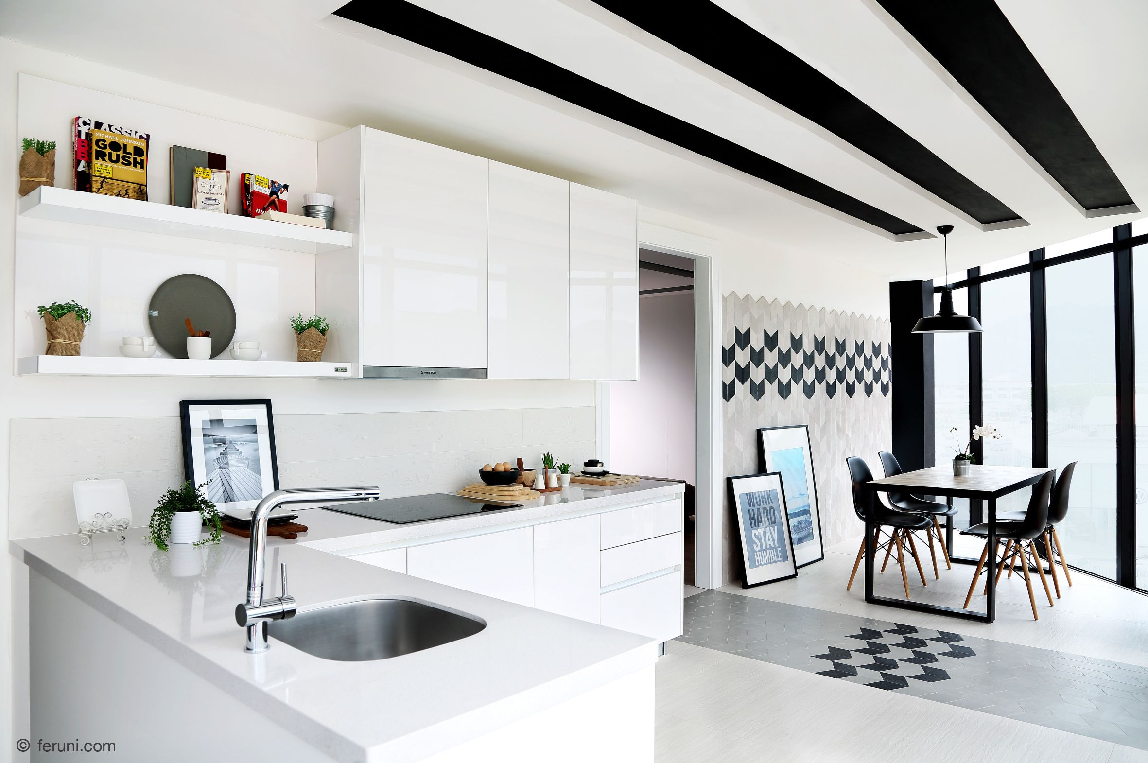 Enhance your living space with beautiful tiles by Feruni.   Feruni ...