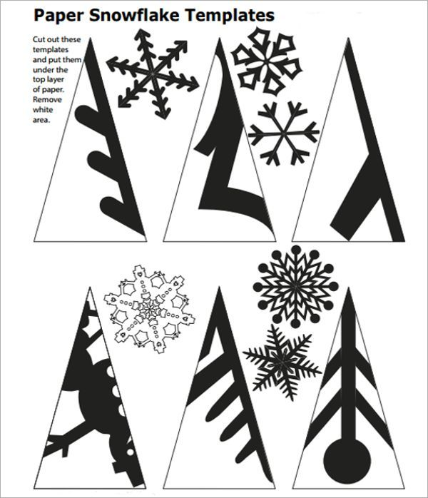 Image result for snowflake folding template Holiday crafts - snowflake template