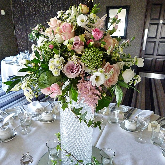 >Top Table arrangements & Table Centrepieces