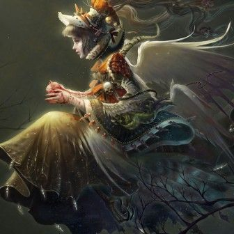 Gorgeous Oriental Styled Fantasy Art Featuring Illustrator Xueyinye