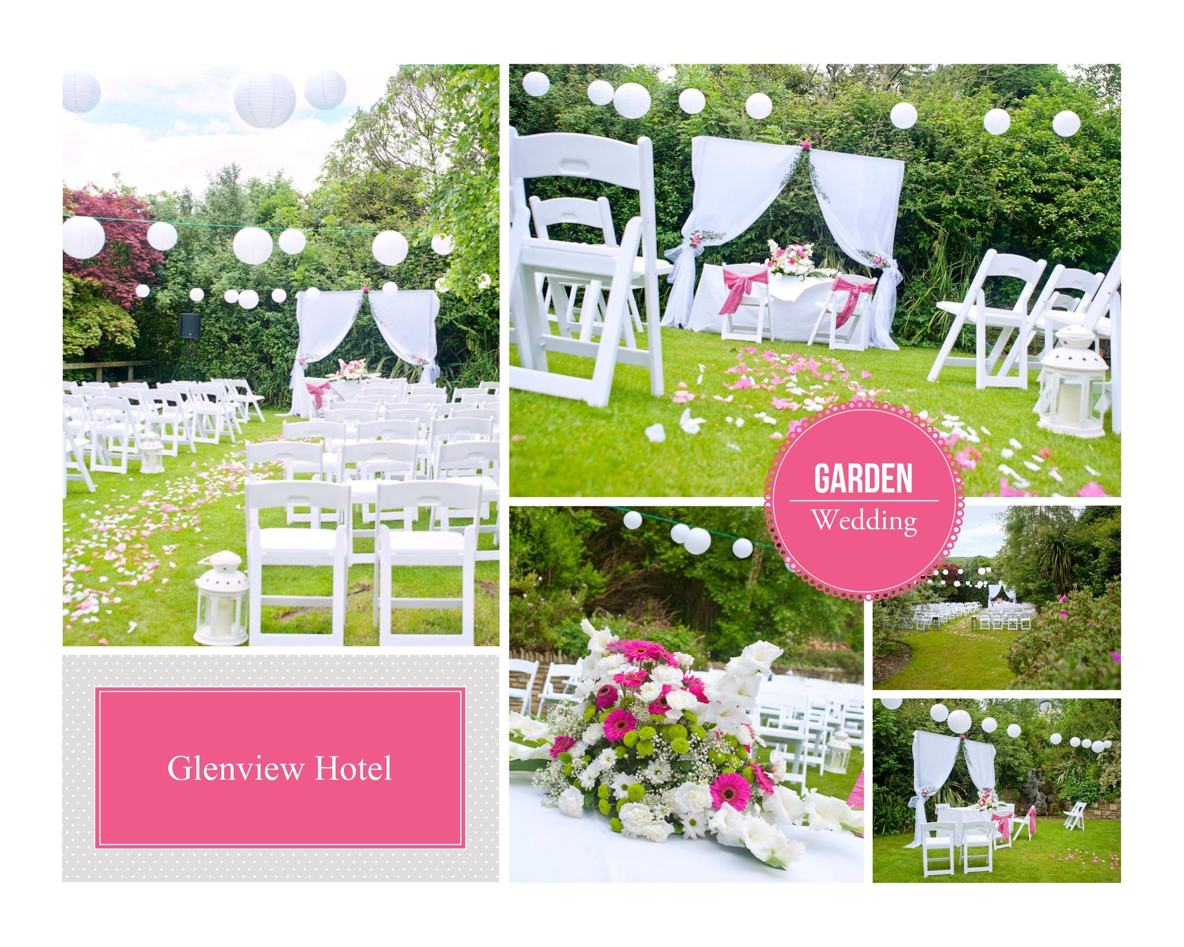 Outdoor Civil Ceremony At The Glenview Hotel
