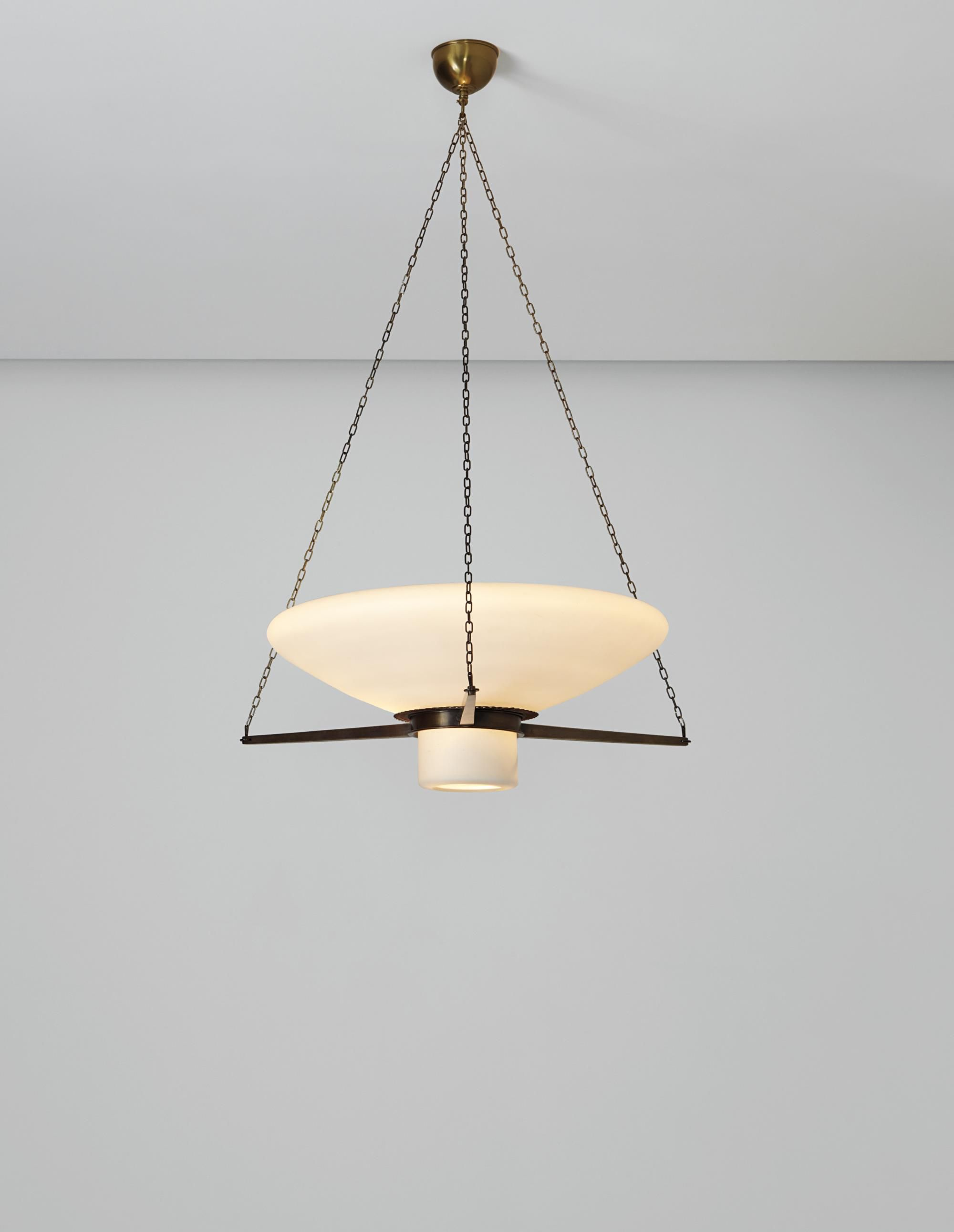 Erik Gunnar Asplund Asplund Ceiling Light, Designed For The Stockholm